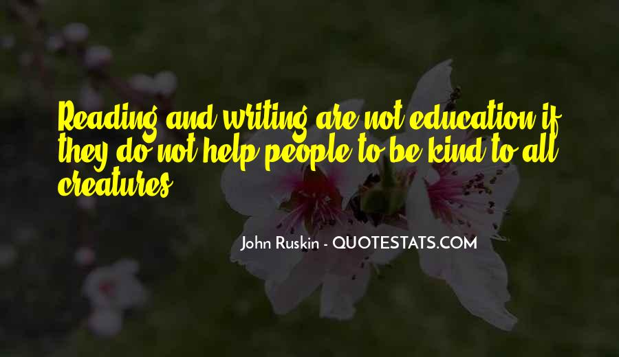 Quotes About Reading And Writing #22330