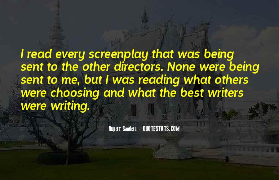 Quotes About Reading And Writing #244416