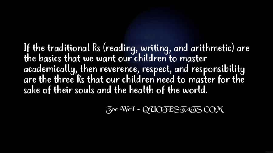 Quotes About Reading And Writing #268359