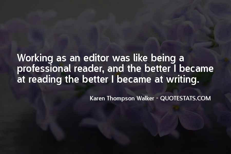 Quotes About Reading And Writing #285407