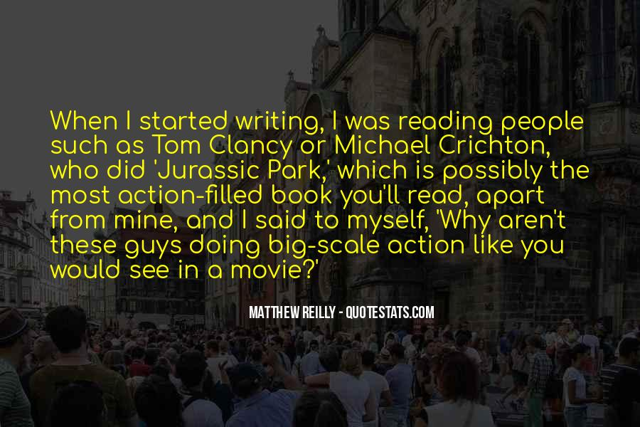 Quotes About Reading And Writing #295402