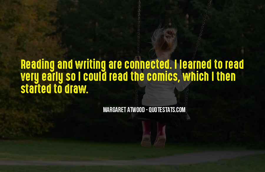 Quotes About Reading And Writing #299648