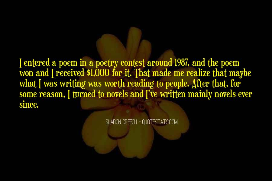 Quotes About Reading And Writing #74752