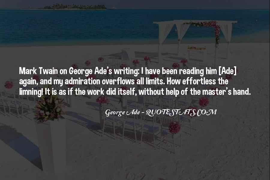 Quotes About Reading And Writing #89461