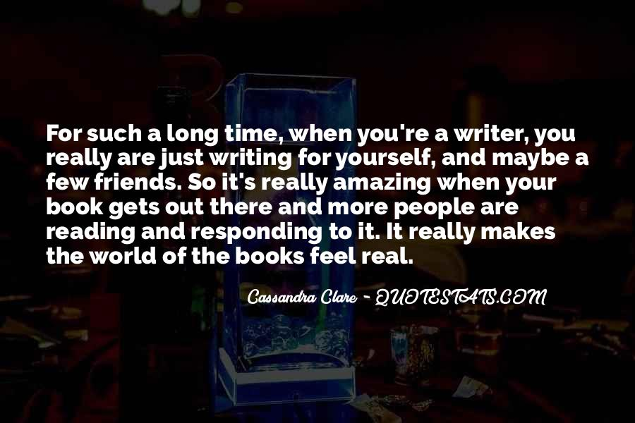 Quotes About Reading And Writing #99549
