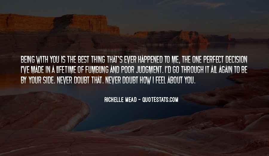 Quotes About About Not Being Perfect #1166329