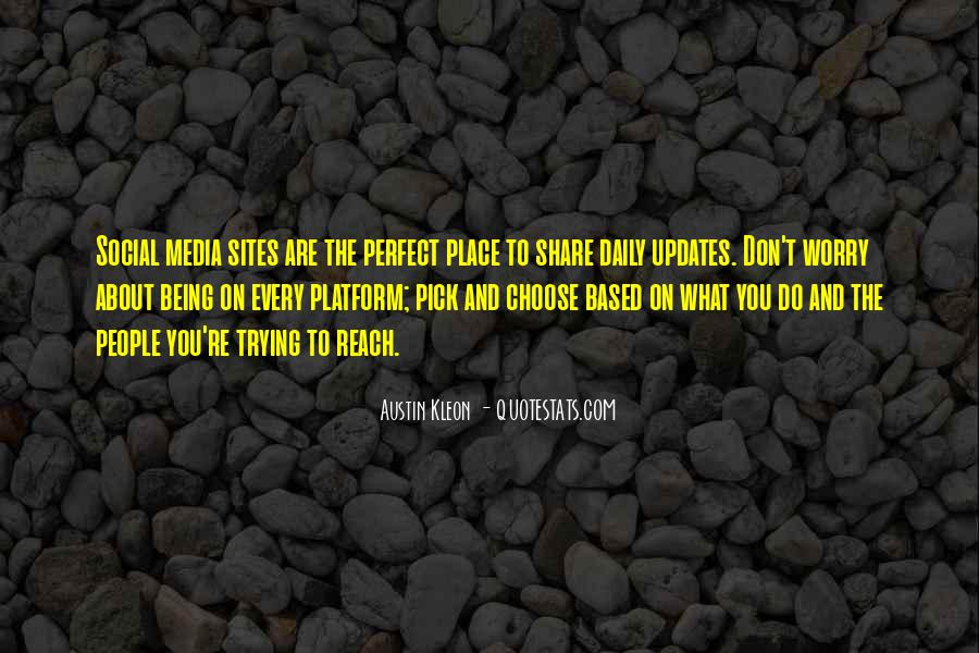 Quotes About About Not Being Perfect #1190588