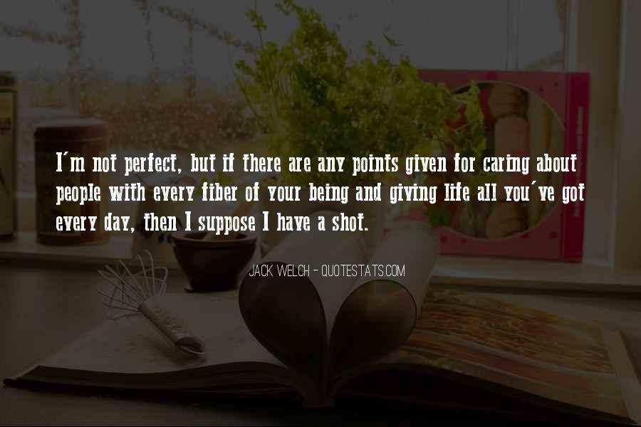 Quotes About About Not Being Perfect #1398859