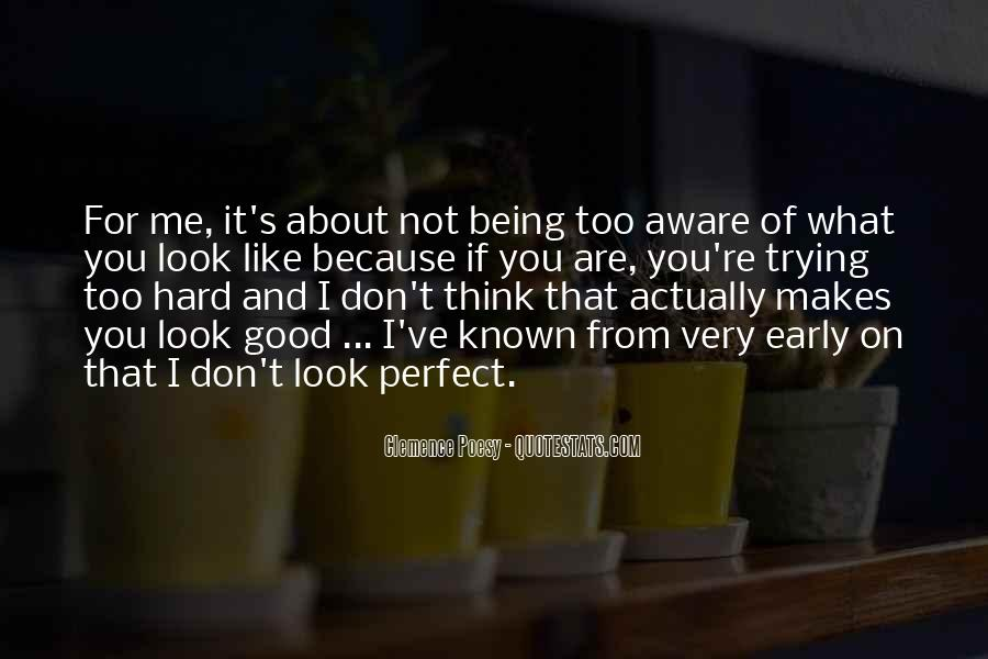 Quotes About About Not Being Perfect #1490973