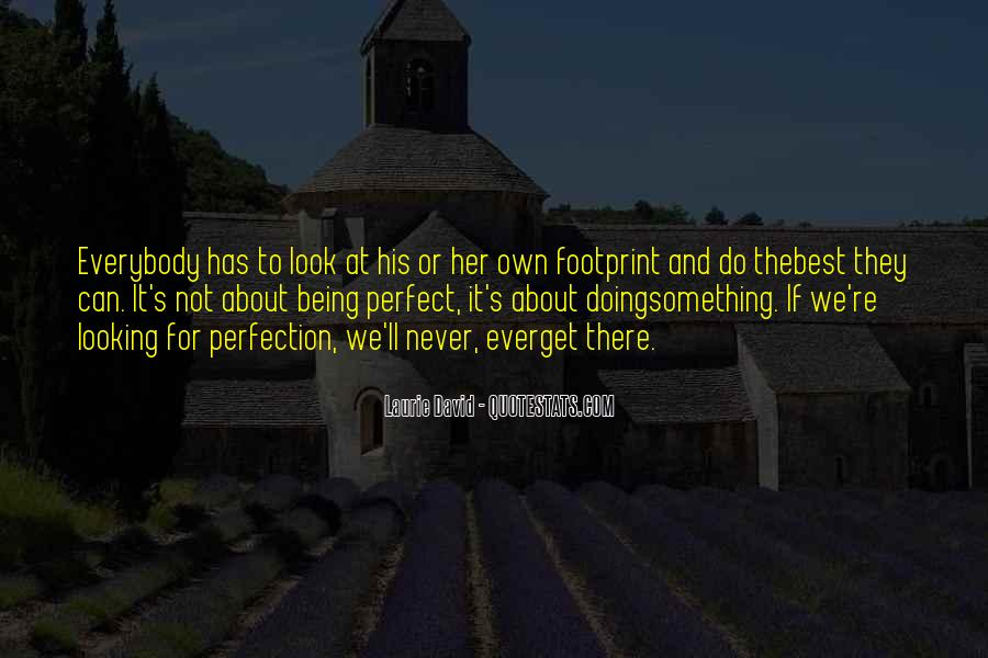 Quotes About About Not Being Perfect #161814