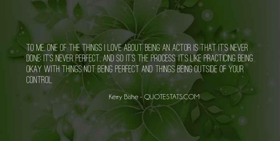 Quotes About About Not Being Perfect #1643775