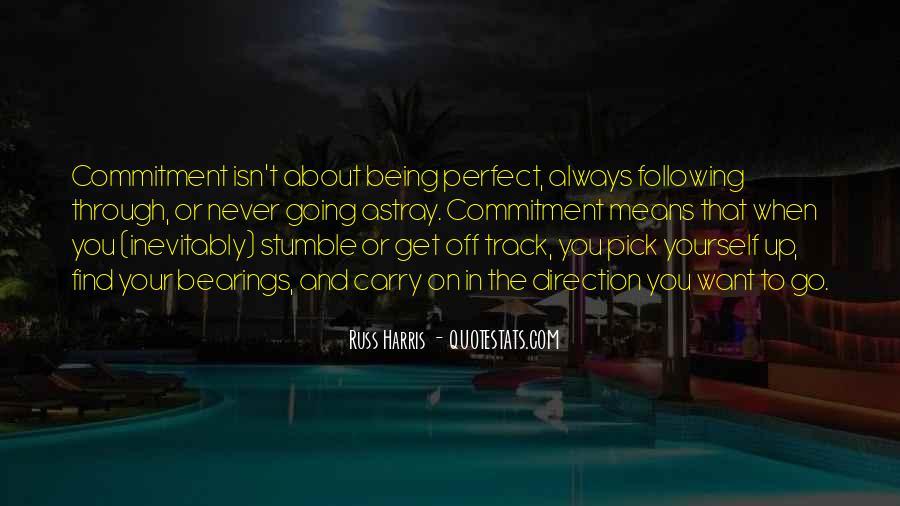 Quotes About About Not Being Perfect #246948