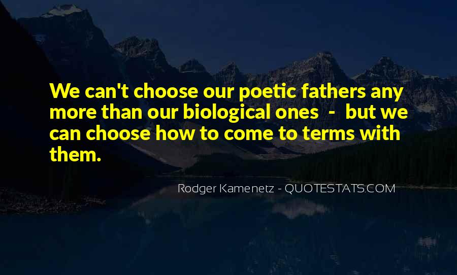 Quotes About Biological Fathers #788802