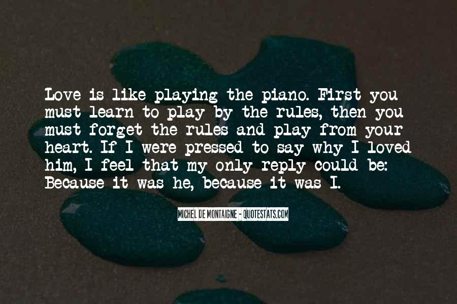 Quotes About Playing Piano #1014127
