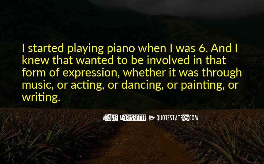 Quotes About Playing Piano #150172