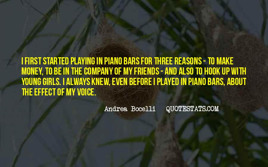 Quotes About Playing Piano #186892