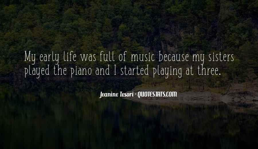 Quotes About Playing Piano #259221