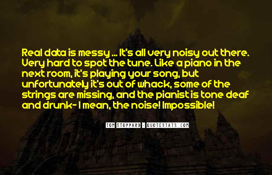 Quotes About Playing Piano #424052