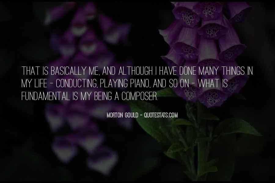 Quotes About Playing Piano #429395