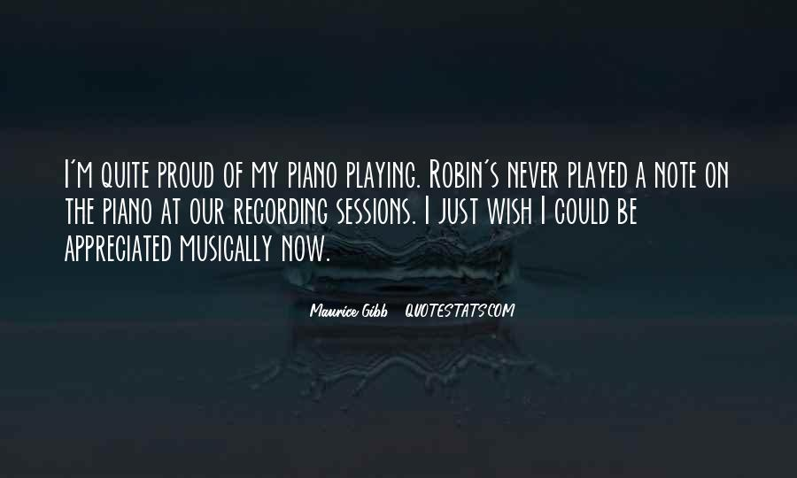Quotes About Playing Piano #435717