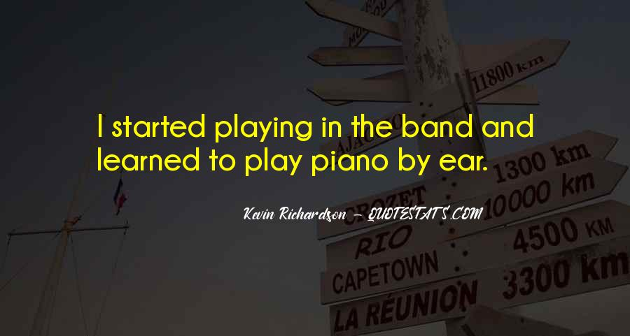 Quotes About Playing Piano #477172