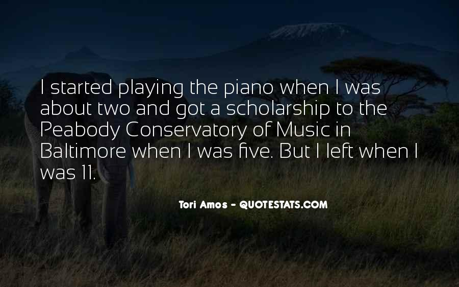 Quotes About Playing Piano #567253