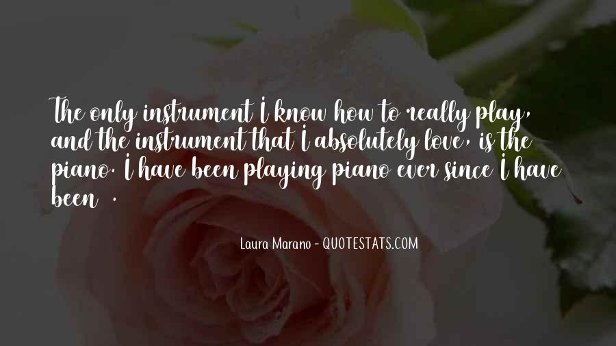Quotes About Playing Piano #578061