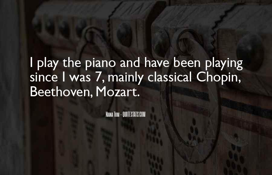 Quotes About Playing Piano #864635