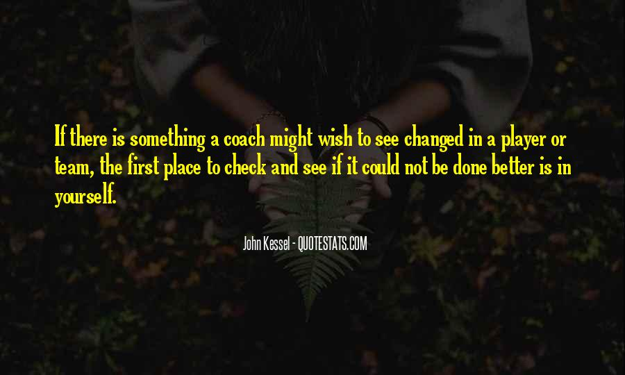 Quotes About A Sports Coach #1009823