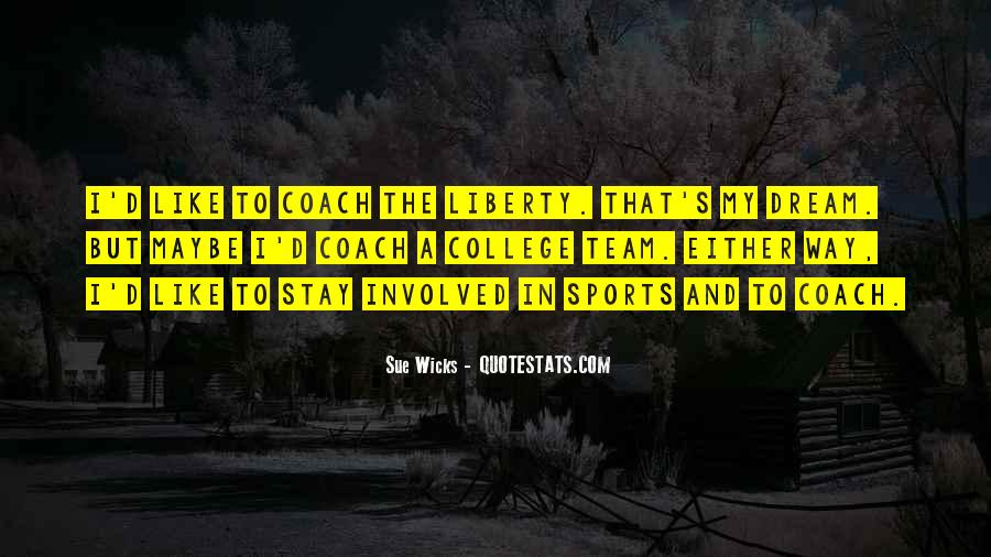 Quotes About A Sports Coach #1025959