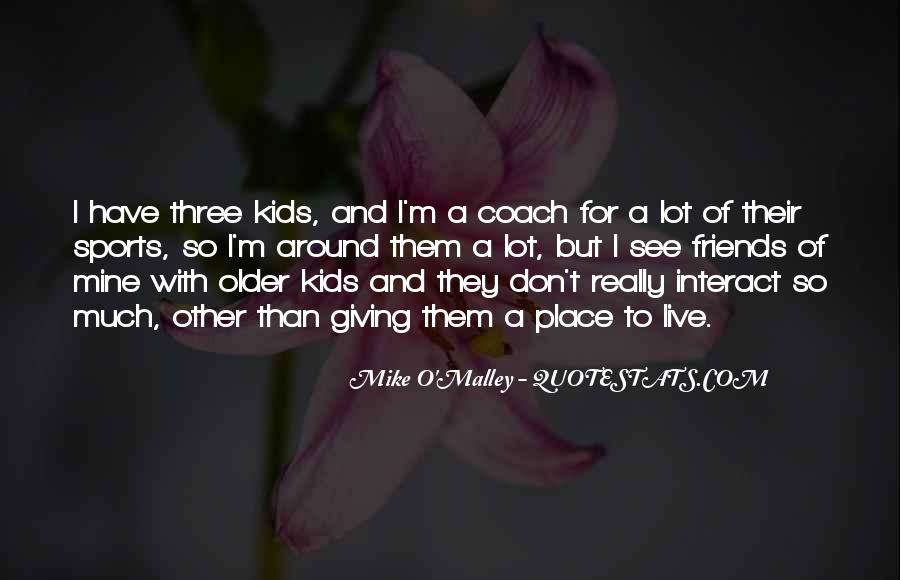 Quotes About A Sports Coach #178146