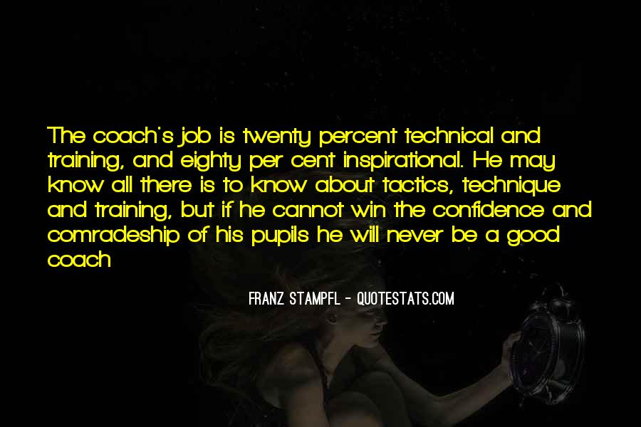Quotes About A Sports Coach #610981