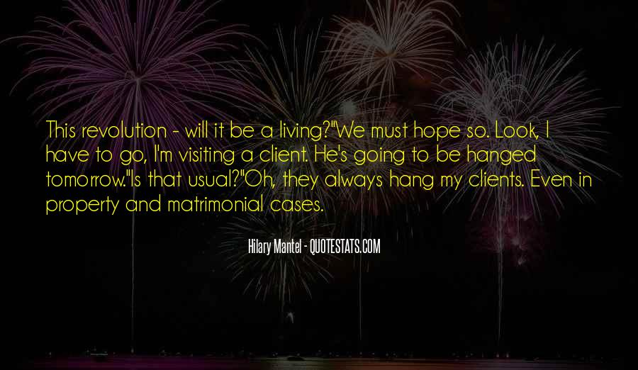 Quotes About Tomorrow #10561