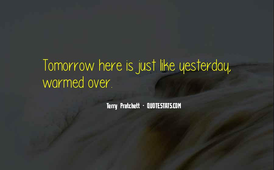 Quotes About Tomorrow #12469