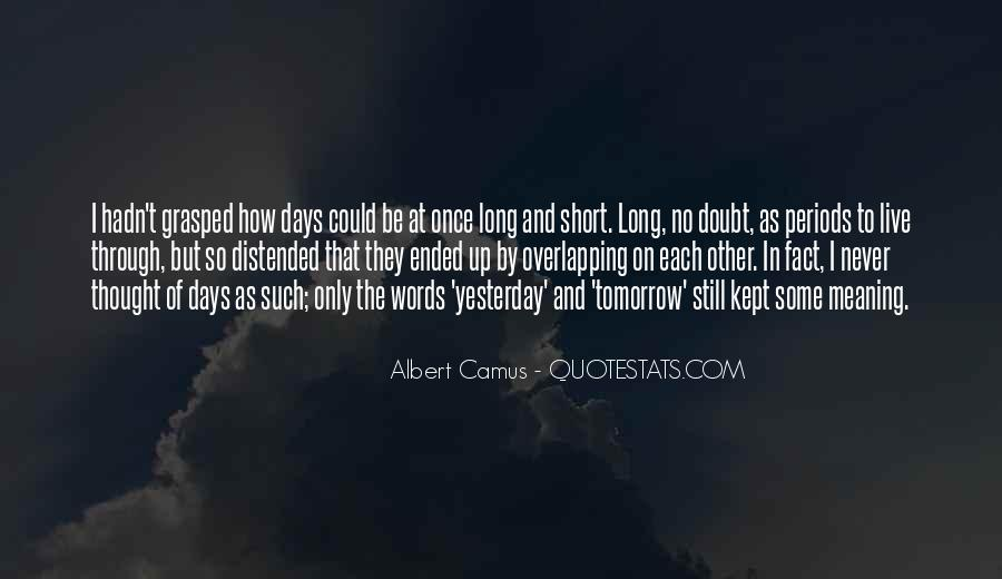 Quotes About Tomorrow #15078