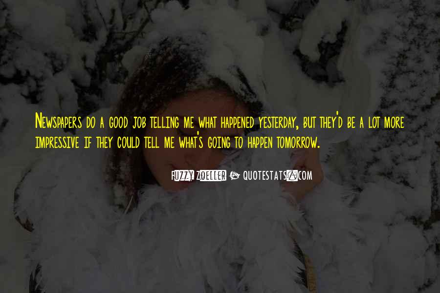 Quotes About Tomorrow #16041