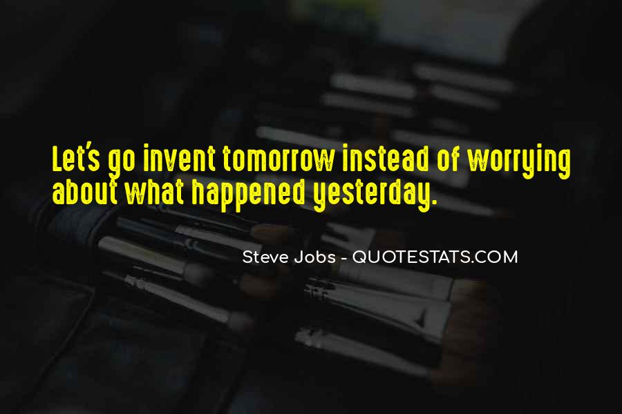 Quotes About Tomorrow #1691