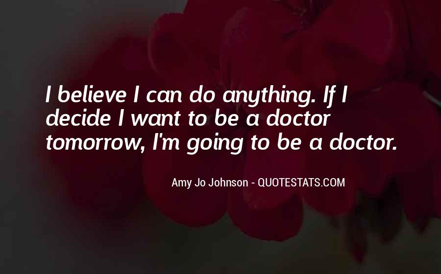 Quotes About Tomorrow #17116