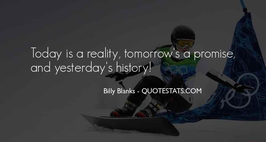 Quotes About Tomorrow #18030