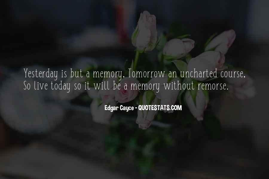 Quotes About Tomorrow #19358
