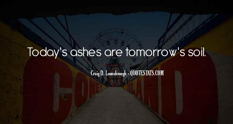 Quotes About Tomorrow #19500