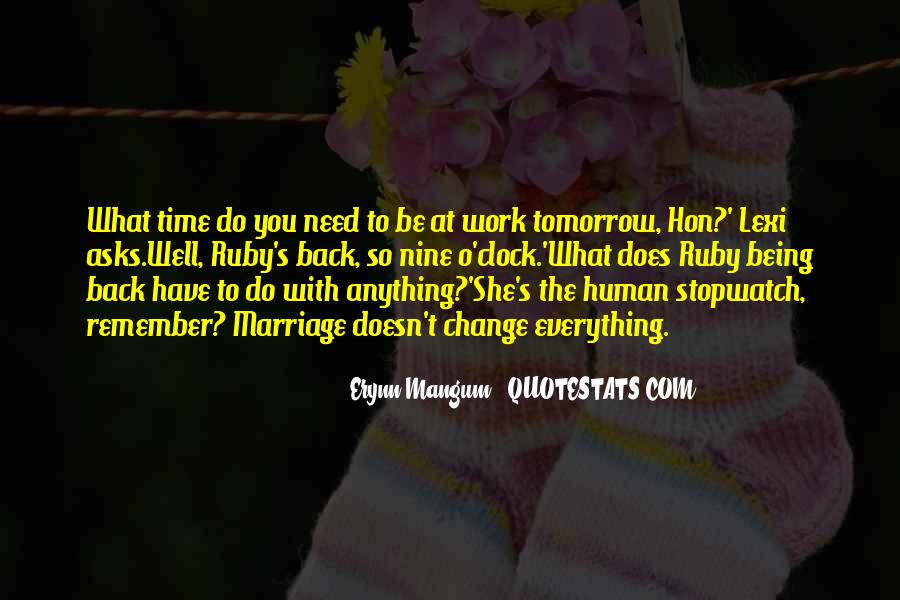 Quotes About Tomorrow #21407