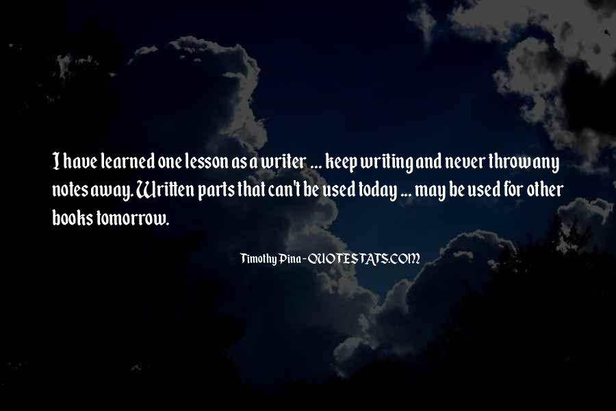 Quotes About Tomorrow #21444