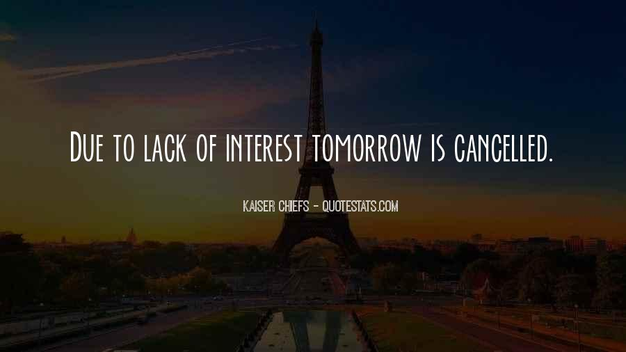 Quotes About Tomorrow #21954