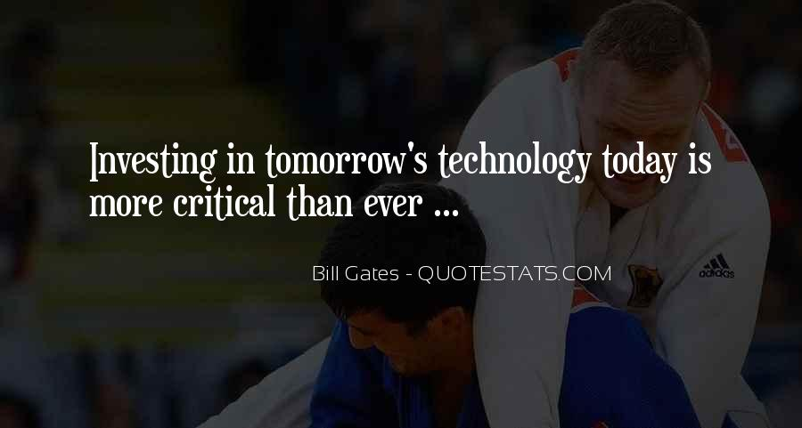 Quotes About Tomorrow #22598