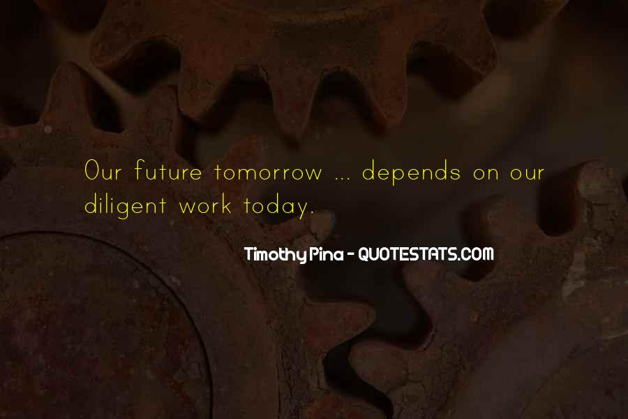 Quotes About Tomorrow #2611