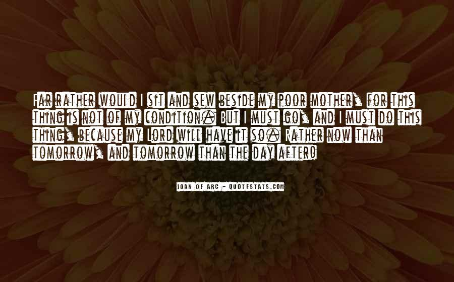 Quotes About Tomorrow #26830
