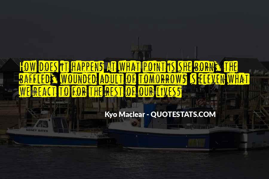 Quotes About Tomorrow #27439