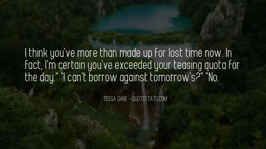 Quotes About Tomorrow #32052