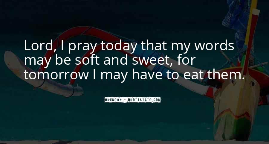 Quotes About Tomorrow #35498